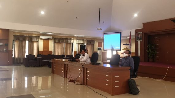 Implementasi VCon Meeting Online bersama PPSDM Regional Bandung